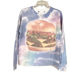 Forever 21 Hamburger in the Sky Sweatshirt